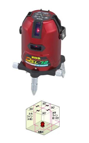 画像1: KDS オートラインレーザー DSL-72 (1)